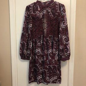 Dresses & Skirts - Long Sleeve Open Back Dress (NEVER WORN)